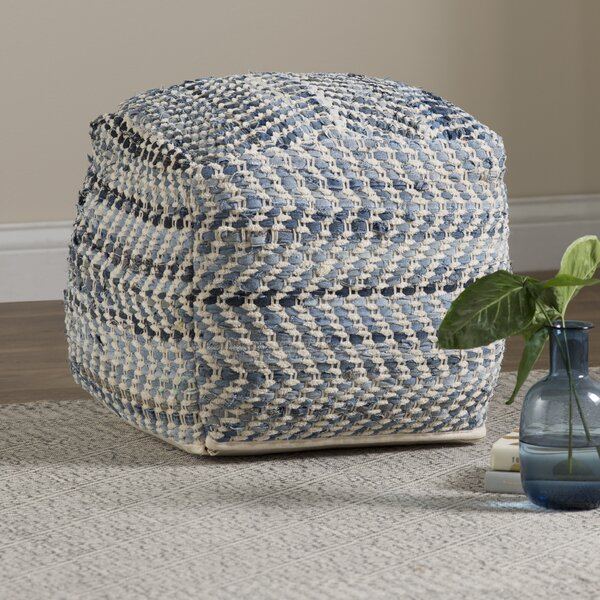 Lubec Pouf by Beachcrest Home