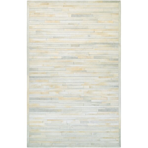 Covina Hand-Woven Ivory Area Rug by Trent Austin Design
