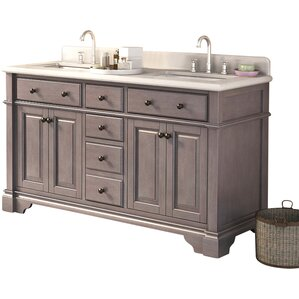 Lori Double Bathroom Vanity Set