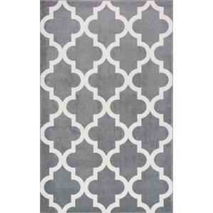 gray & silver rugs you'll love | wayfair