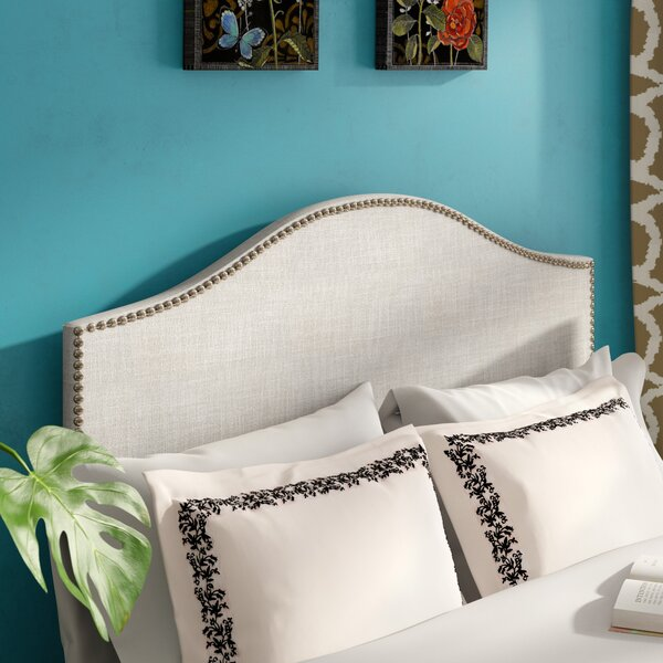 Unger Upholstered Panel Headboard by Charlton Home
