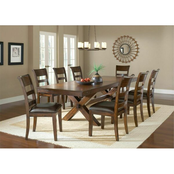 Fernson 9 Piece Dining Set by Red Barrel Studio
