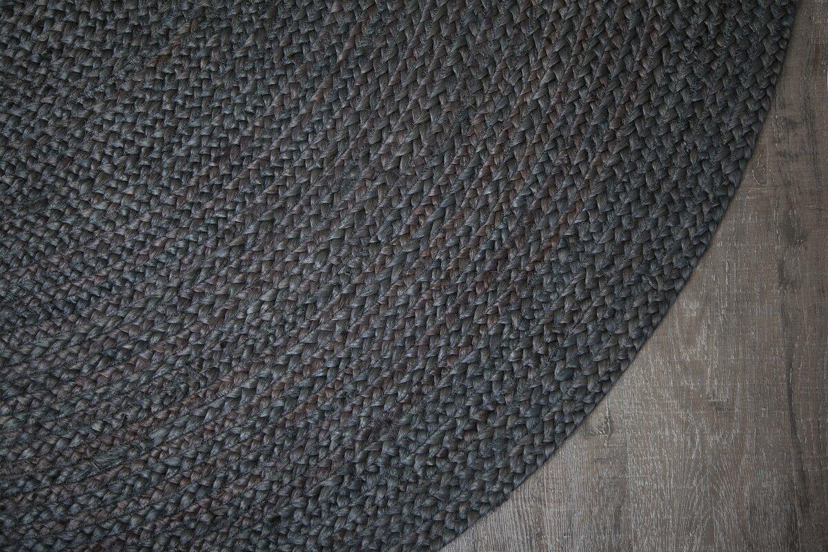 Birch Lane Sarina Hand Woven Charcoal Gray Area Rug