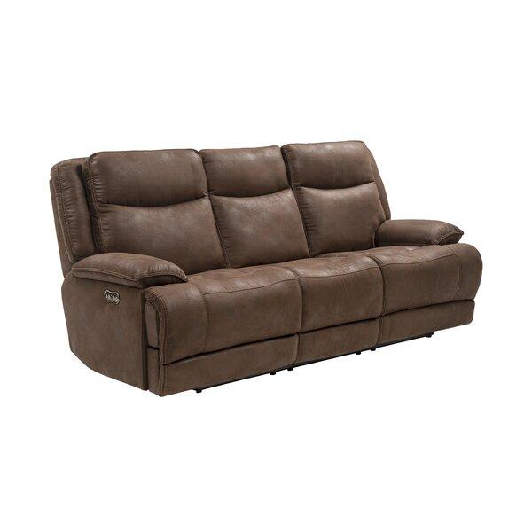 Vanburen Reclining Sofa by Winston Porter
