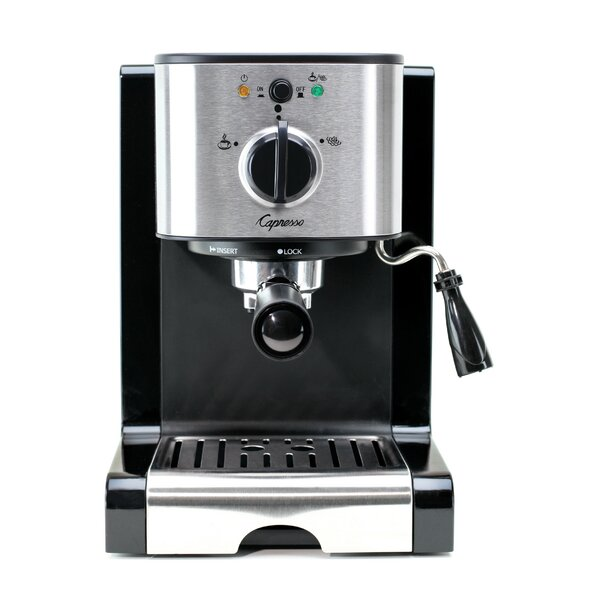EC100 Pump Espresso & Cappuccino Machine by Capresso