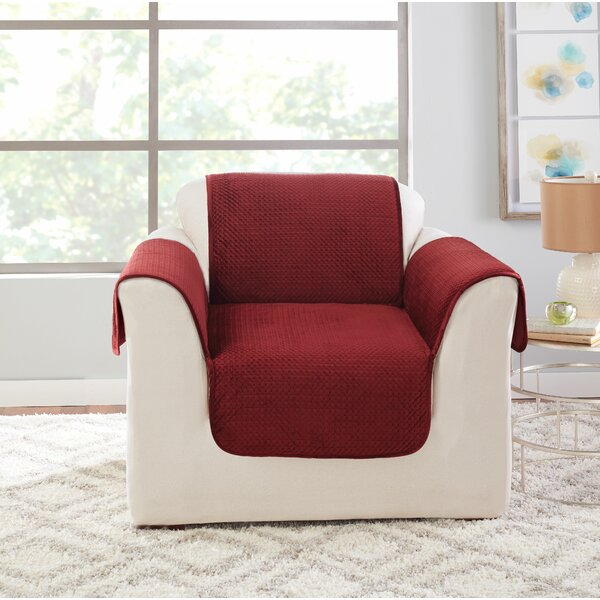 Elegant Pick Stitch Armchair Slipcover By Sure Fit