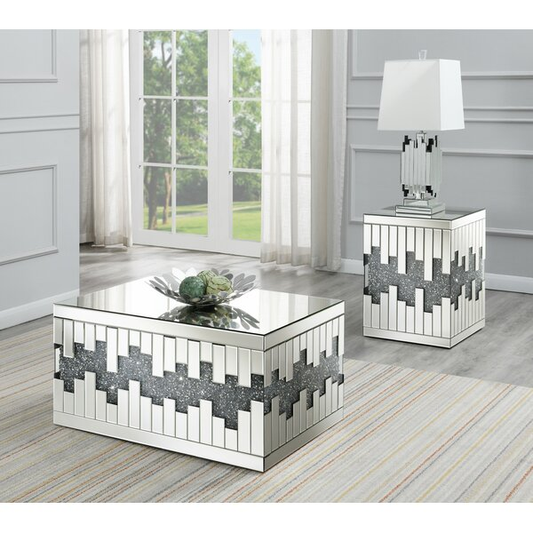 Thibault 2 Piece Coffee Table Set By Everly Quinn