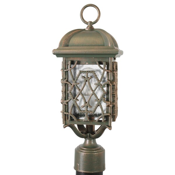 Penfield Beddo Series 1 Light 17.5 Post Lantern by Alcott Hill