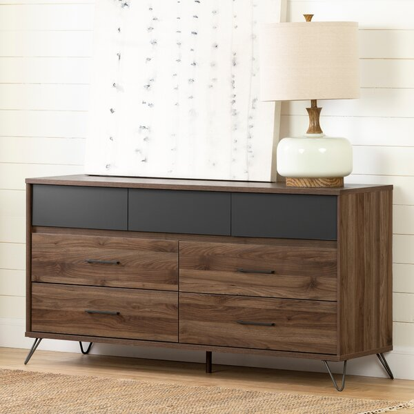 Stange 7 Drawer Double Dresser By Trent Austin Design by Trent Austin Design Wonderful
