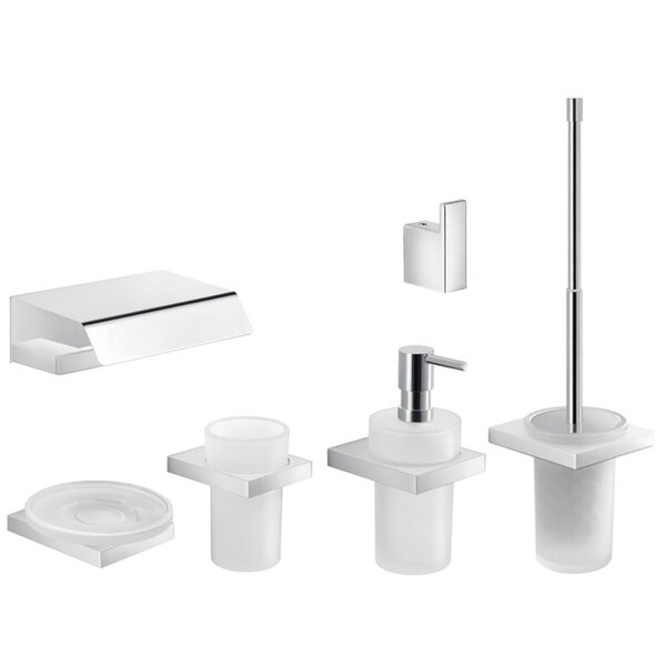 Lanzarote 6 Piece Bathroom Hardware Set by Gedy by Nameeks