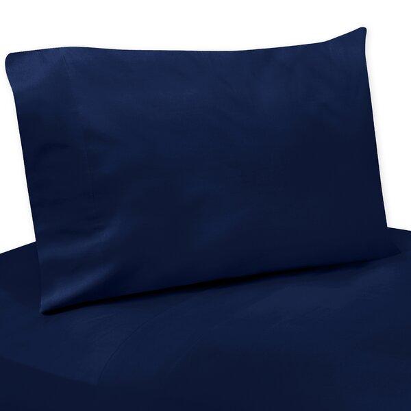 Solid Navy Blue Twin Sheet Set by Sweet Jojo Designs
