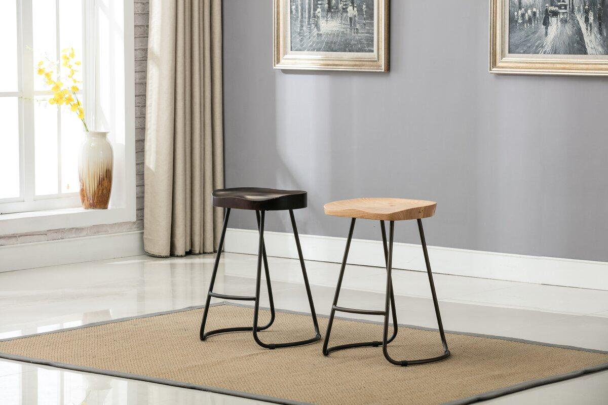 farmhouse saddle counter bar stool. farmhouse saddle counter bar stool  reviews  allmodern