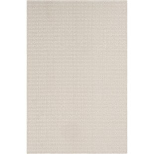 Read Reviews Midwest Striped Ivory/White Area Rug By Charlton Home