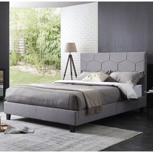 Barnes Upholstered Platform Bed by Trule Teen