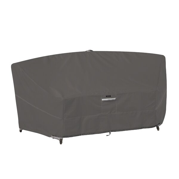 Patio Curved Modular Sofa Sectional Cover by Freeport Park