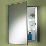 Zachariah Recessed Framed Medicine Cabinet with 3 Adjustable Shelves