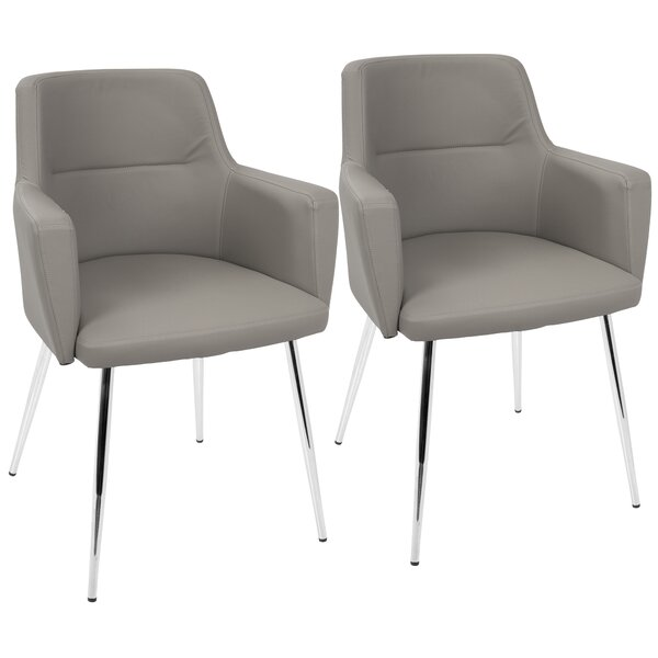 Milton Upholstered Dining Chair (Set of 2) by Langley Street