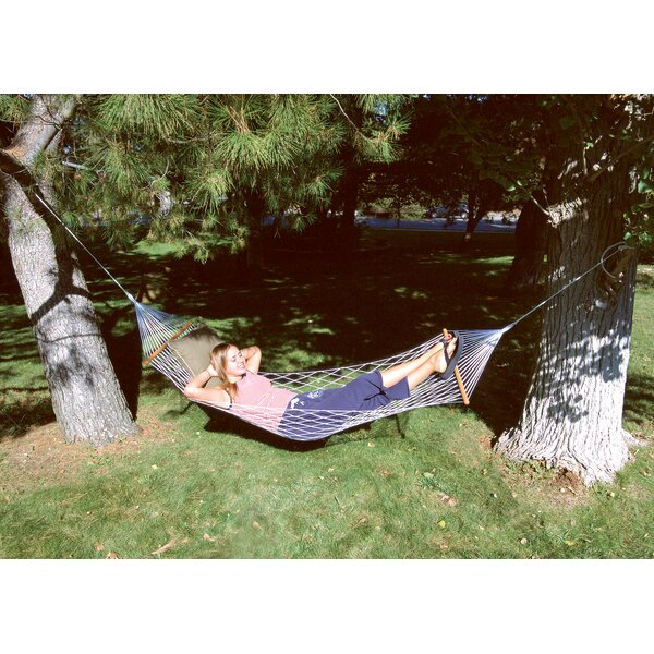 Deluxe Polypropylene Tree Hammock by Stansport