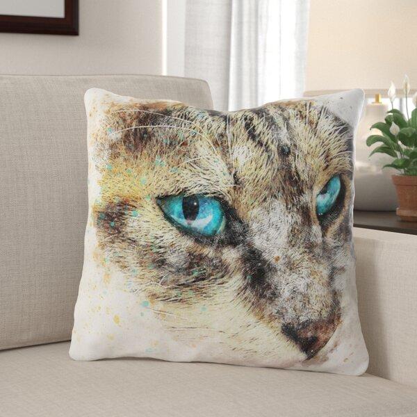 Duppstadt Cat Throw Pillow