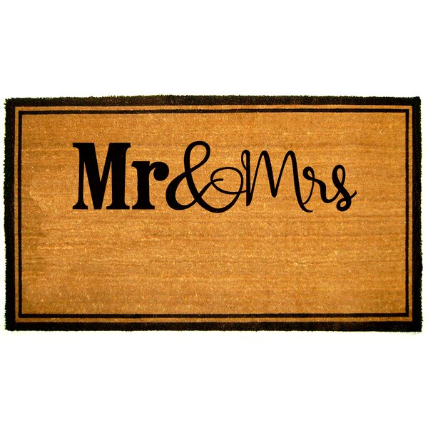 Gogol Mr and Mrs Doormat by The Twillery Co.