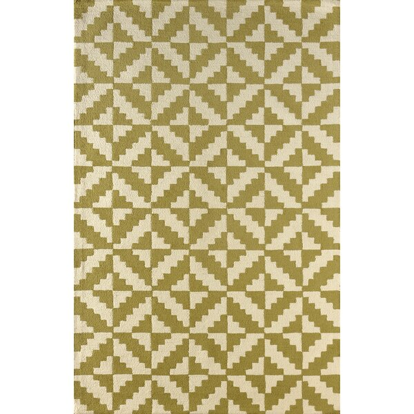 Hisey Hand-Tufted Pear Area Rug by Brayden Studio