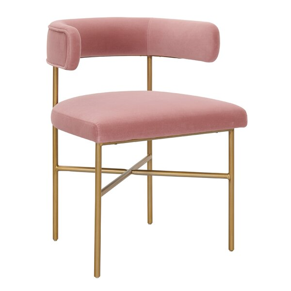 Jeanie Upholstered Dining Chair by Willa Arlo Interiors Willa Arlo Interiors