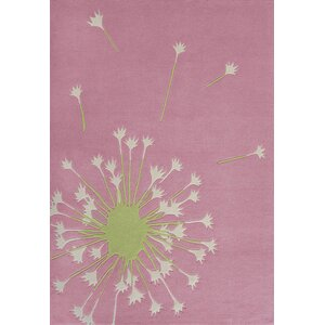 Kandace Hand-Tufted Pink Area Rug