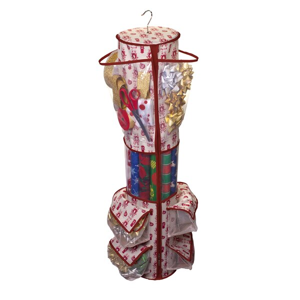 Holiday Gift Wrap Organizer by Jokari
