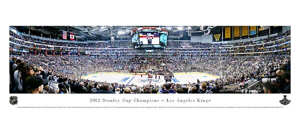 NHL 2012 Stanley Cup Champions - Los Angeles Kings by Christopher Gjevre Photographic Print by Blakeway Worldwide Panoramas, Inc