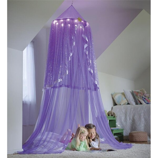 LED Purple Starlight Bower Play Tent by Magic Cabin