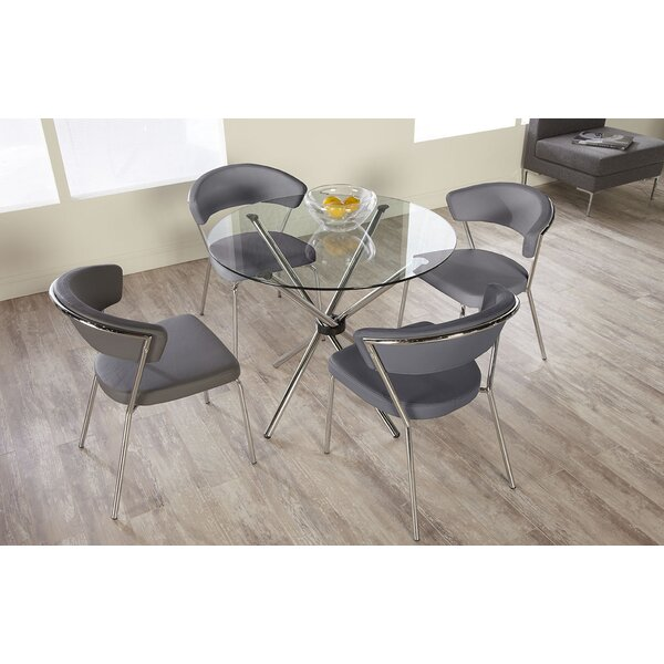 Bielecki 5 Piece Dining Set (Set of 5) by Orren Ellis