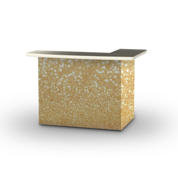 Glitter Me Gold Home bar by Best of Times Best of Times