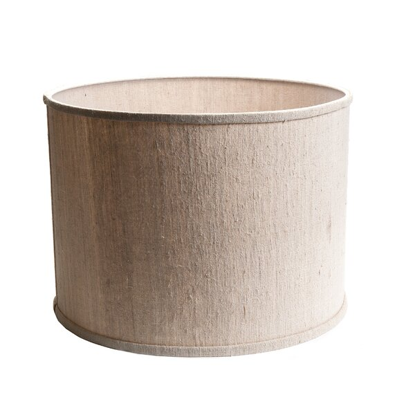 Harpless 20 Linen Drum Lamp Shade by etúHOME