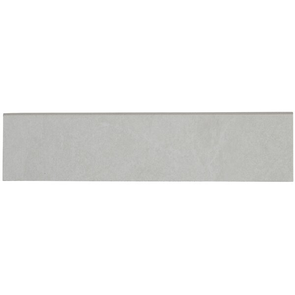Slate Attaché 24 x 3 Porcelain Bullnose Tile Trim