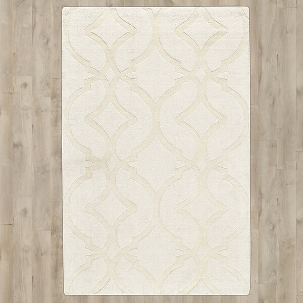 Frejus Hand-Loomed Shell Indoor/Outdoor Area Rug by Lark Manor