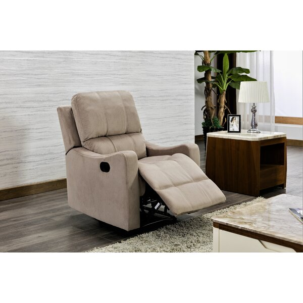 Porath Manual Recliner Red Barrel Studio W001887036