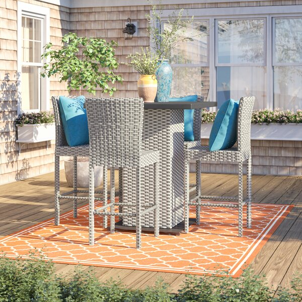 Rochford 5 Piece Bar Height Dining Set by Sol 72 Outdoor