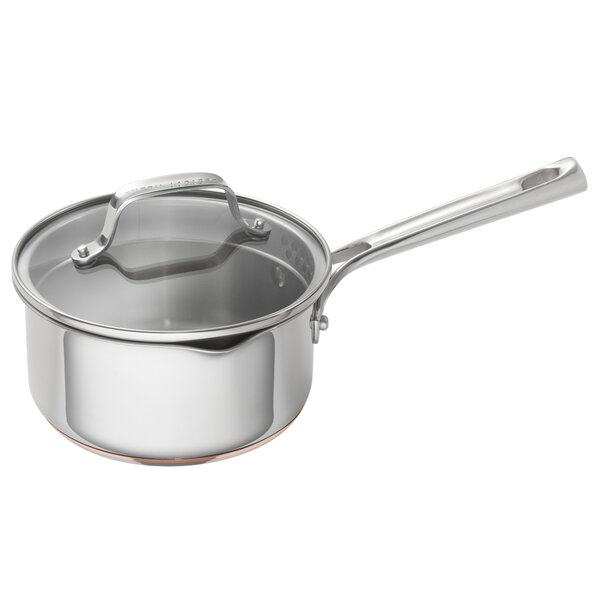 2 qt. Stainless Steel Sauce Pan with Lid by Emeril Lagasse