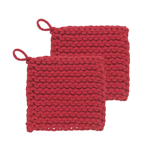 Parker Potholder (Set of 2) by Danica Studio