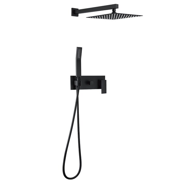 Pressure-Balanced Complete Shower System With Rough-in Valve By Dimakai