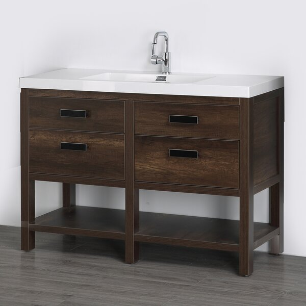 47 Free-Standing Single Bathroom Vanity Set
