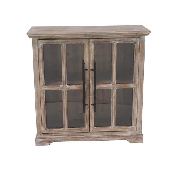 Bratton Heights Traditional Rectangular 2 Door Accent Cabinet by Darby Home Co Darby Home Co