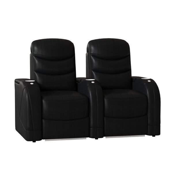 Stealth HR Series Home Theater Recliner (Row Of 2) By Winston Porter