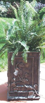 Resin Planter Box by Ladybug Garden Decor