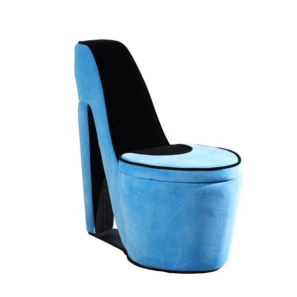Elford High Heel Storage Side Chair by House of Hampton