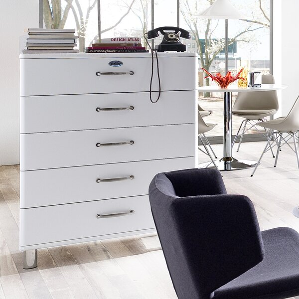New Design Malibu 5 Drawer Chest By Tenzo Coupon