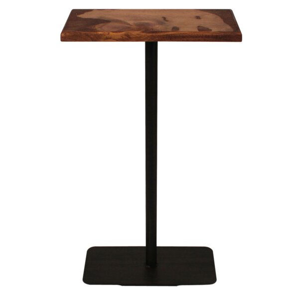 Bridget Wood Top Bear Accent Pub Table By Millwood Pines