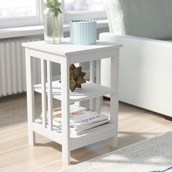 Review Minerva End Table With Storage