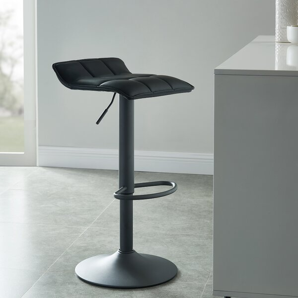Arjun Adjustable Height Swivel Bar Stool (Set of 2) by Ebern Designs