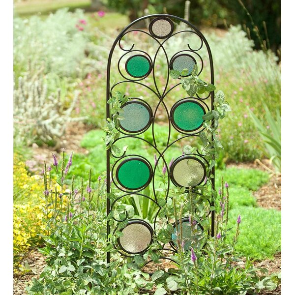 Metal and Glass Trellis by Wind & Weather